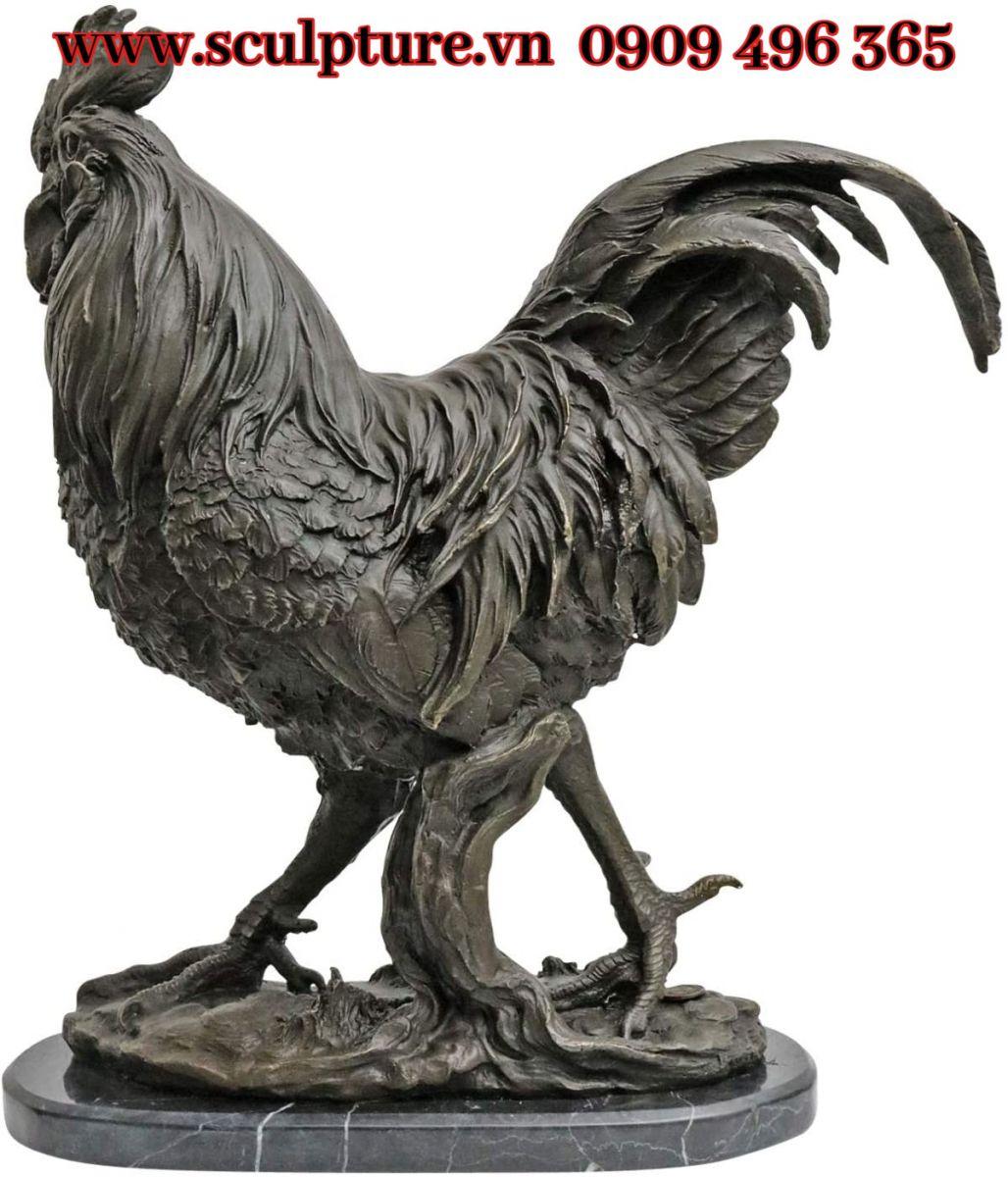 Tượng ddieu khắc kim loại giá rẻ