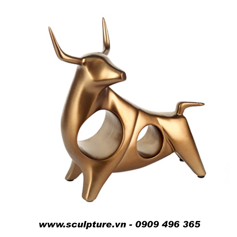 tượng điêu khắc kim loại giá rẻ