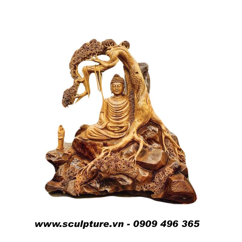 tượng gỗ điêu khắc đẹp